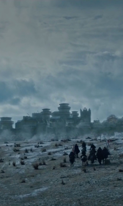 Unknown Actor with Castle Ward (Depicted as Winterfell Castle) County Down, Northern Ireland in Game of Thrones