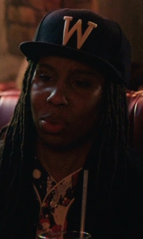 Lena Waithe with New Era Wichita State Shockers Snapback Cap in Master of None