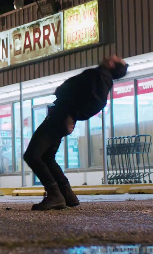 Unknown Actor with Timberland Premium Boots in American Ultra