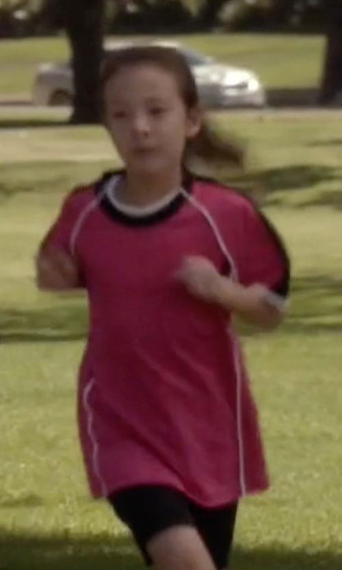 Aubrey Anderson-Emmons with Adidas Kids Estro Jersey Shirt in Modern Family