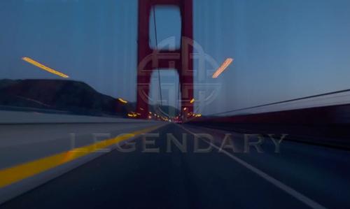 Unknown Actor with Golden Gate Bridge San Francisco, California in Steve Jobs