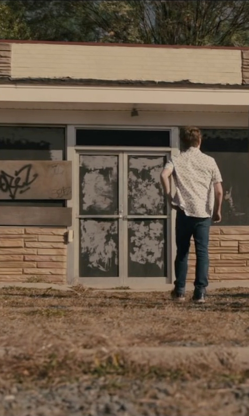 Austin Abrams with Tommy Hilfiger Denim Pants in Paper Towns