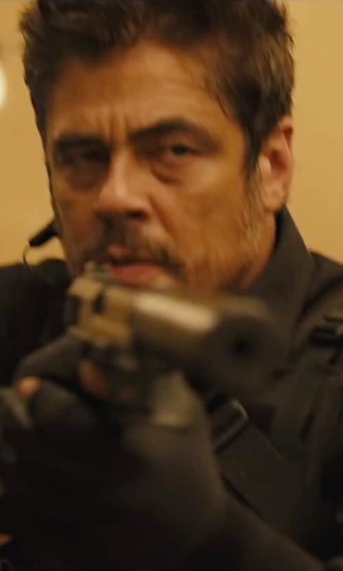 Benicio Del Toro with 5.11 Tactical Long Sleeve  Shirt in Sicario
