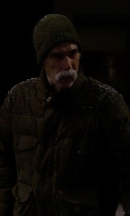 Sam Elliott with Gant Rugger Ribbed Beanie in The Ranch