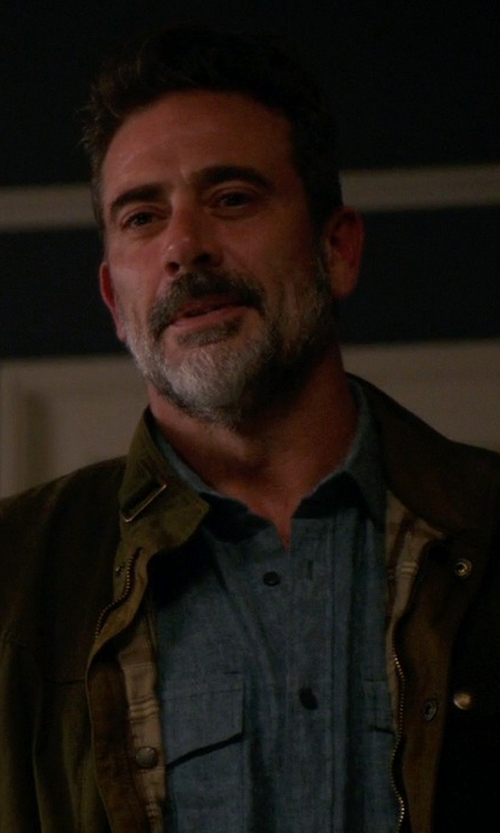Jeffrey Dean Morgan with Belstaff Barningham Jacket in The Good Wife
