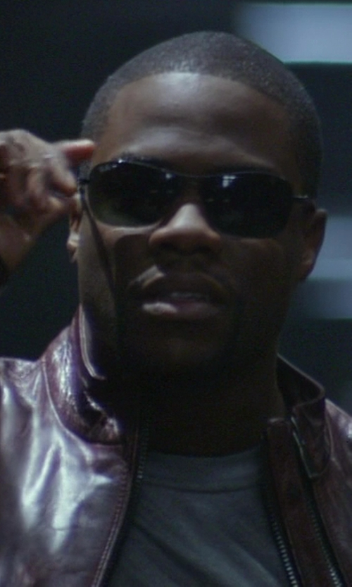 Kevin Hart with Ray-Ban Carbon Fibre RB8307 Aviator Sunglasses in Ride Along