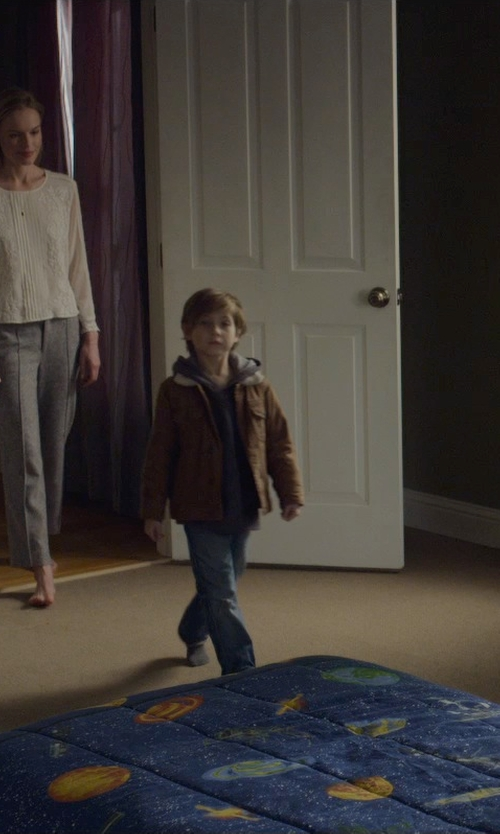 Jacob Tremblay with Diesel Denim Pants in Before I Wake