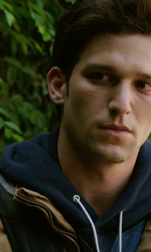 Daren Kagasoff with Boss Hugo Boss Jacket Hooded in Ouija