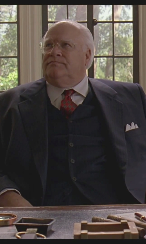 David Huddleston with Tom Ford	 Diagonal-Striped Tie in The Big Lebowski