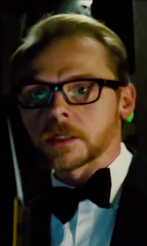 Simon Pegg with Retro Super Future 'América' Glasses in Mission: Impossible - Rogue Nation