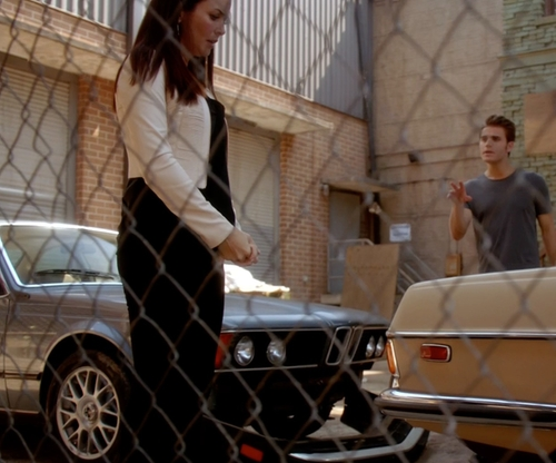 Paul Wesley with BMW 1984 633CSi Coupe in The Vampire Diaries