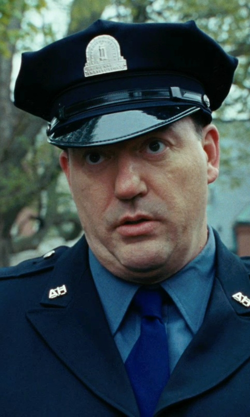 John Carroll Lynch with Rothco Uniform Hat - Eight Point Security/Police Style in Shutter Island