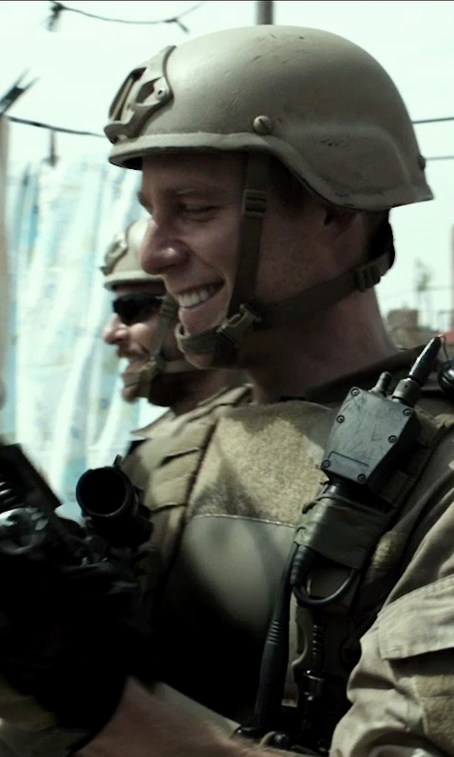Jake McDorman with Survival Armor Outercarrier Assault Vest in American Sniper