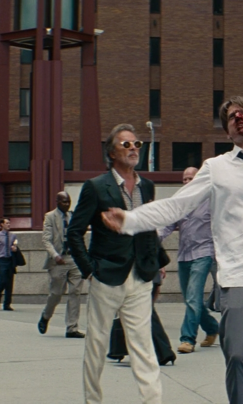 Don Johnson with Incotex Casual Pants in The Other Woman