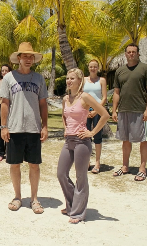 Kristen Bell with Athleta Beloved Tank Top in Couple's Retreat