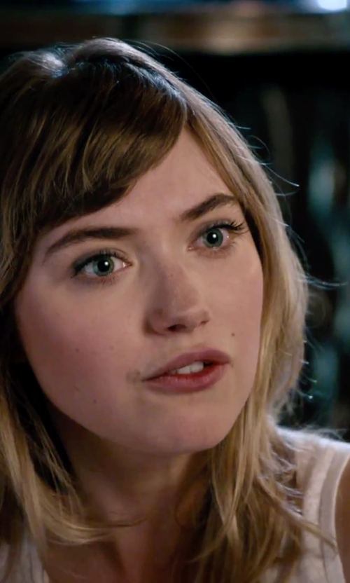 Imogen Poots with Paige Jessa Tank Top in She's Funny That Way