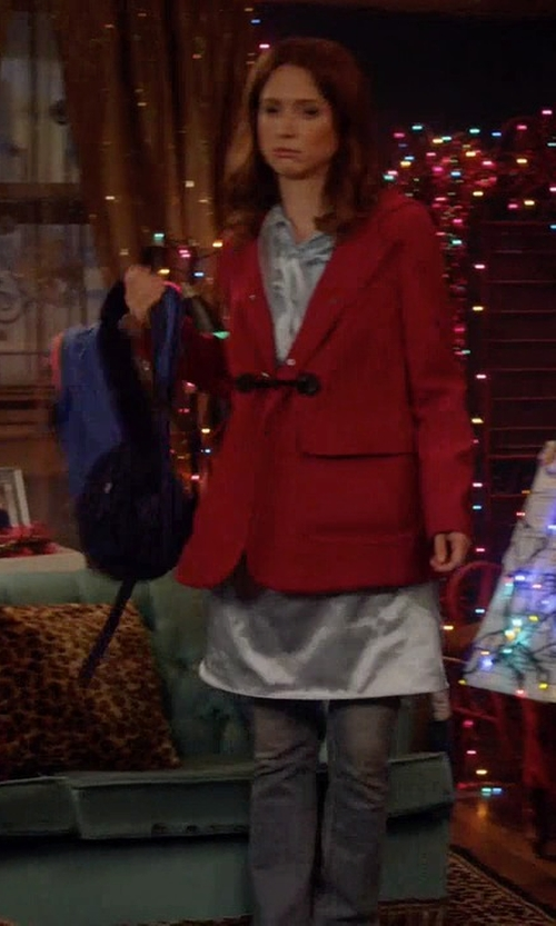 Ellie Kemper with The North Face Classic Borealis Backpack in Unbreakable Kimmy Schmidt