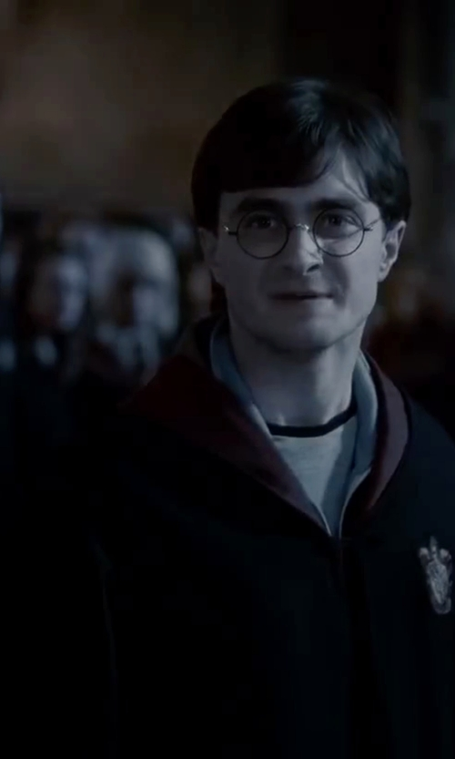 Daniel Radcliffe with Harry Potter Gryffindor Deluxe School Robe in Harry Potter and the Deathly Hallows: Part 2