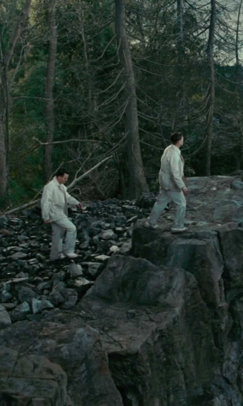Leonardo DiCaprio with Raparo Contrast Oxford Shoe in Shutter Island