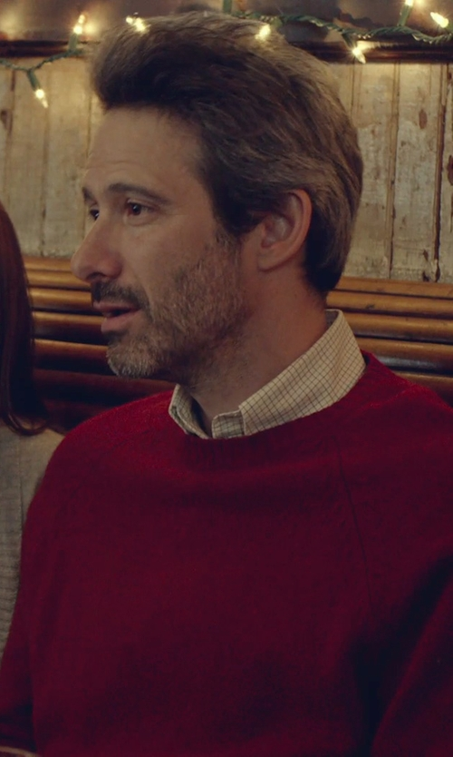 Adam Horovitz with Shipley & Halmos Gingham Booster Shirt in While We're Young