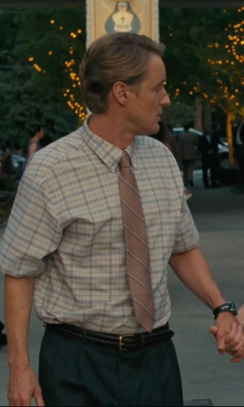 Owen Wilson with Dockers Glazed-Top Braided Belt in Hall Pass