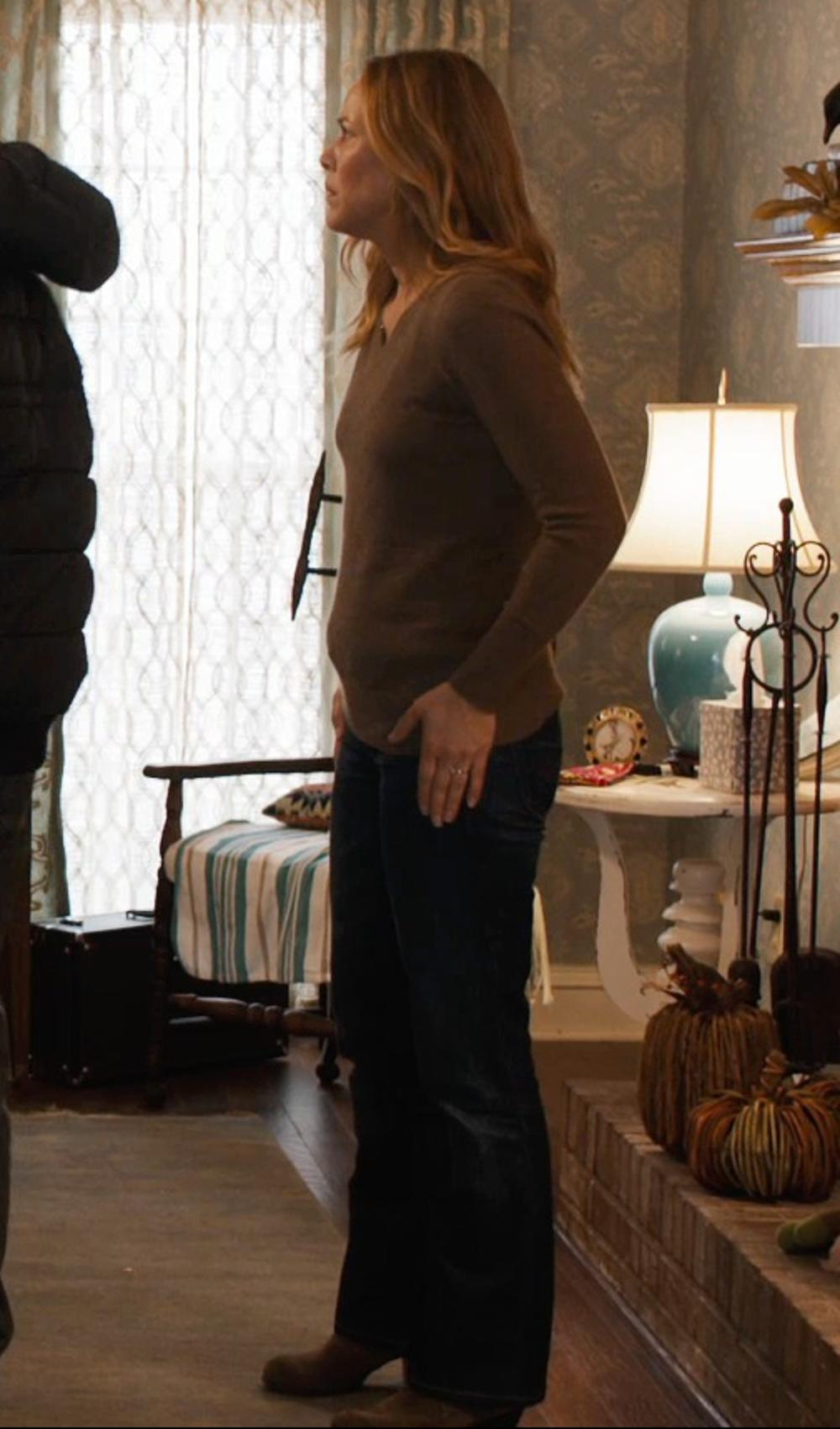 Maria Bello with Arkte Ankle Boot in Prisoners