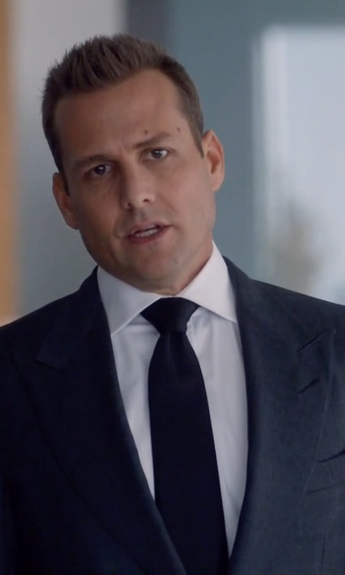 Gabriel Macht with Brioni Satin Tie in Suits