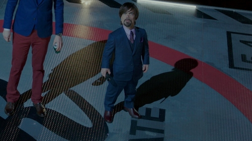 Peter Dinklage with Cole Haan 'Hamilton' Chelsea Boot in The Boss