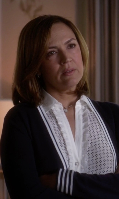 Lesley Fera with Ippolita Lollipop Medium Round Pendant Necklace in Pretty Little Liars