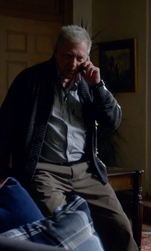 Jeff Perry with Incotex Scott Comfort Cotton Dress Pants in Scandal