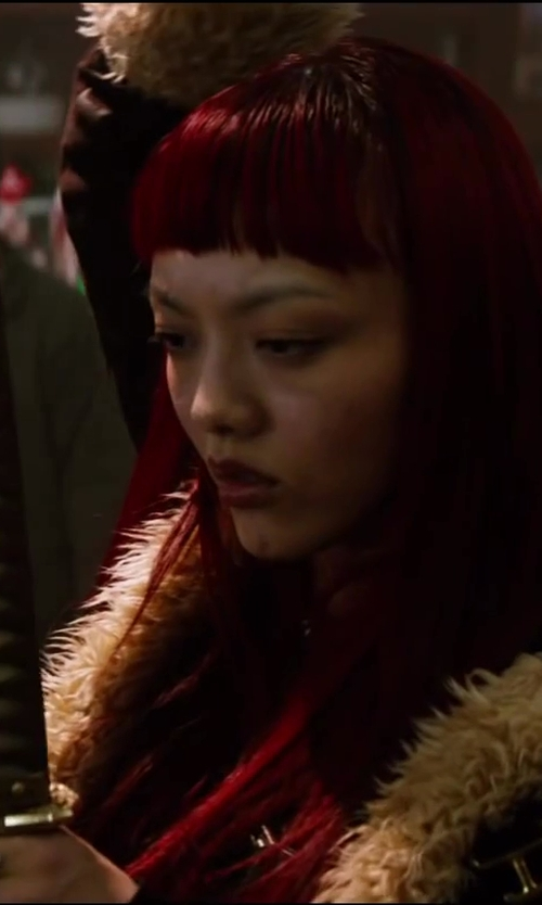 Rila Fukushima with River Island Silver Tone Wrap Ring in The Wolverine