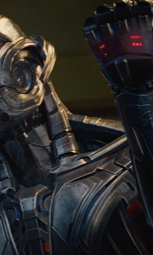 James Spader with Andy Park (Concept Artist) Ultron in Avengers: Age of Ultron