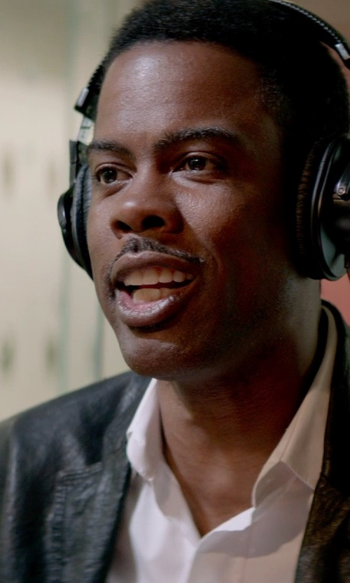 Chris Rock with Sony Professional Studio Headphone in Top Five