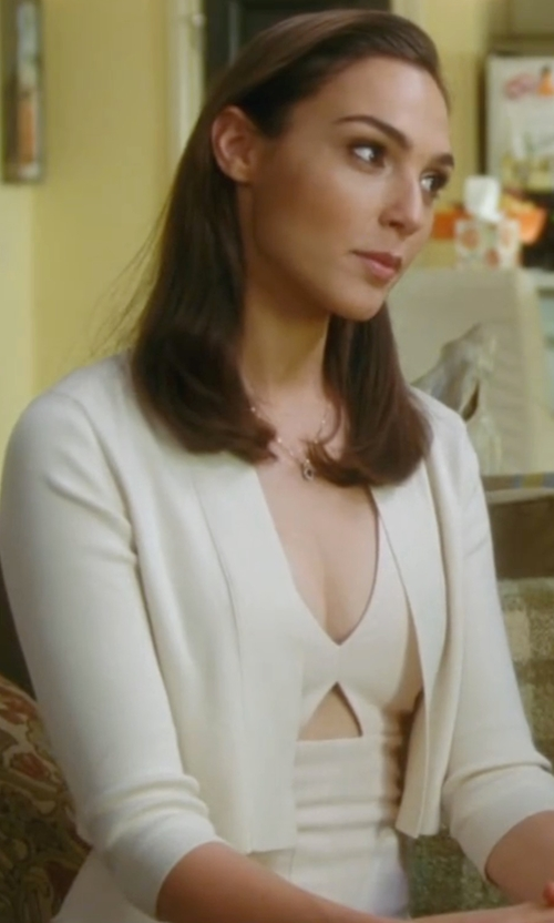 Gal Gadot with Stylestalker Seine Mini Dress in Keeping Up with the Joneses