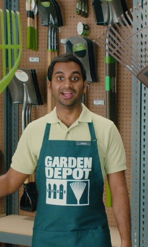 Aziz Ansari with Scotch & Soda Polo Shirt in Master of None