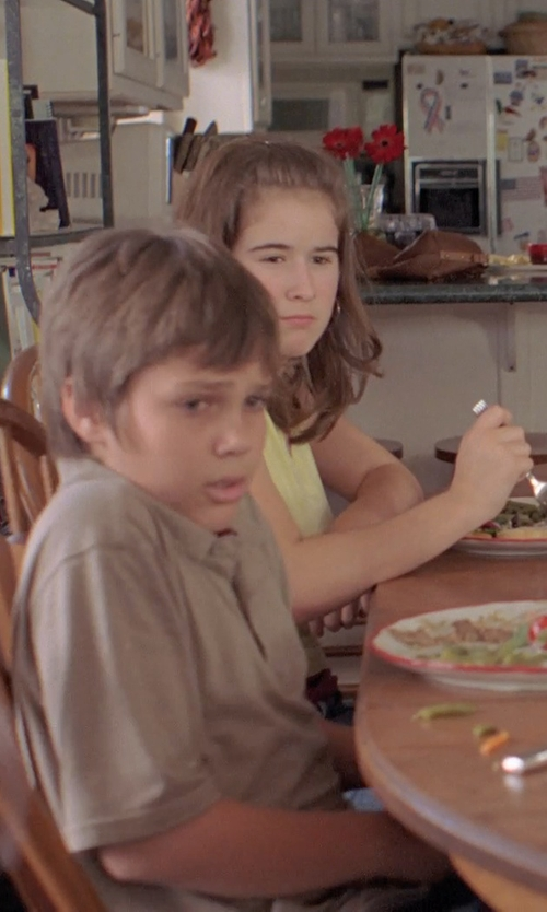 Jamie Howard with The Children's Place Braided Swing Tank Top in Boyhood