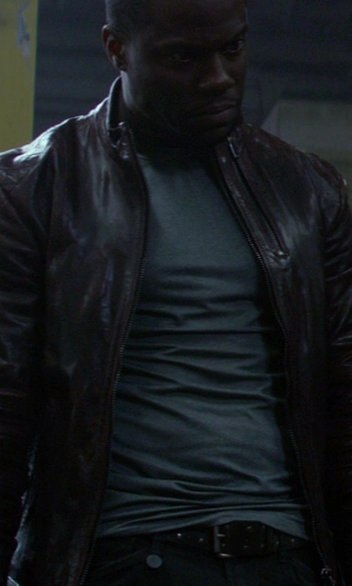 Kevin Hart with Ted Baker Men's Studded Detail Belt in Ride Along
