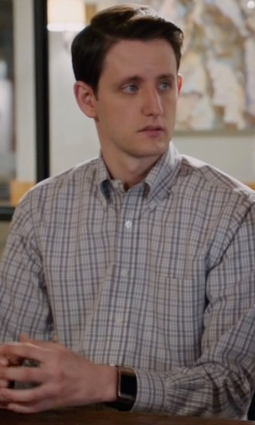 Zach Woods with Samsung Gear 2 Smartwatch in Silicon Valley
