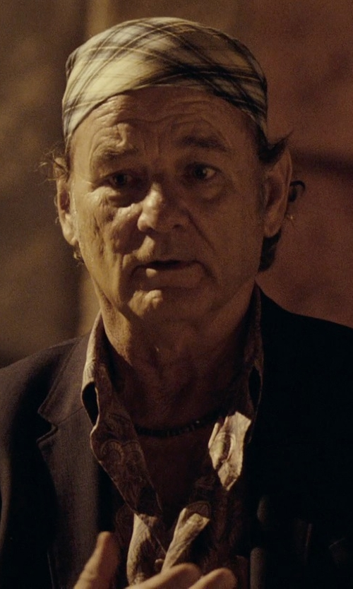 Bill Murray with Amscan White Bandana in Rock The Kasbah
