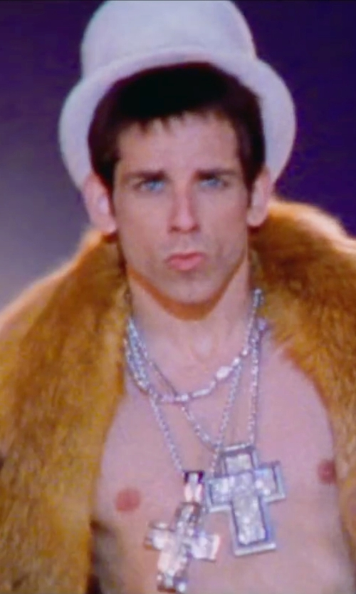 Ben Stiller with Morris Costumes Felt Top Hat in Zoolander 2