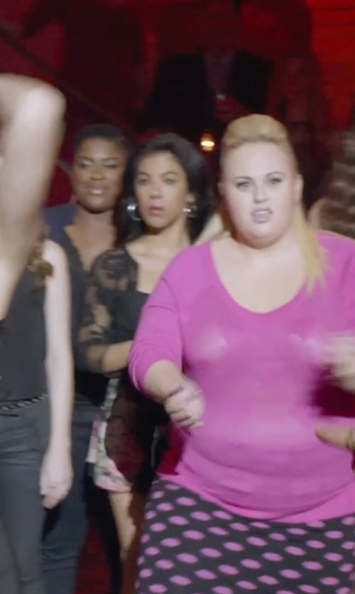 Chrissie Fit with Siste' S Lace Long Sleeve Blazer in Pitch Perfect 2
