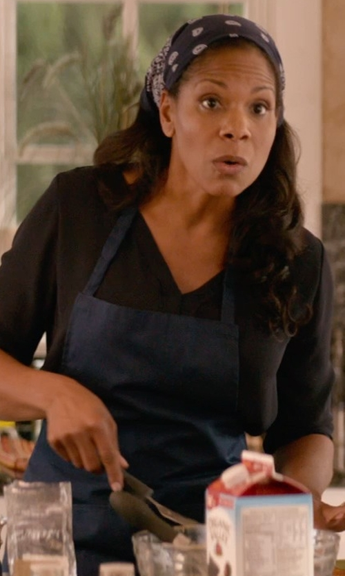 Audra McDonald with Stellar James Martin Apron in Ricki and the Flash