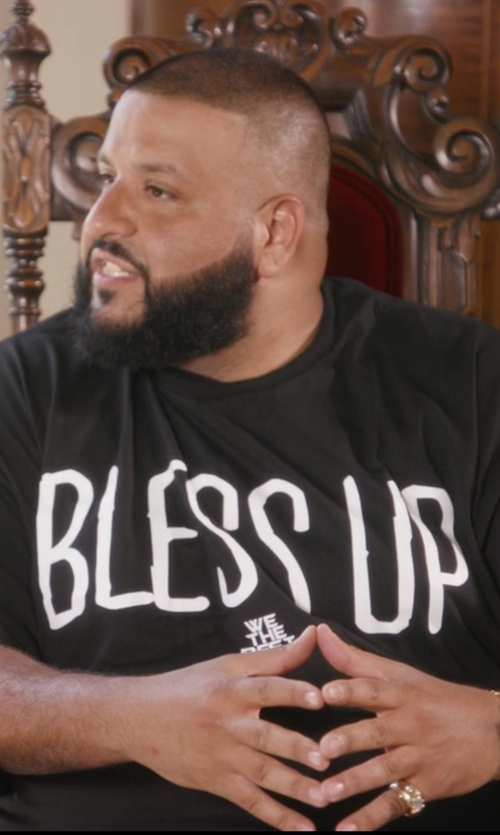 D.J. Khaled with We The Best Bless Up T-Shirt in Chelsea