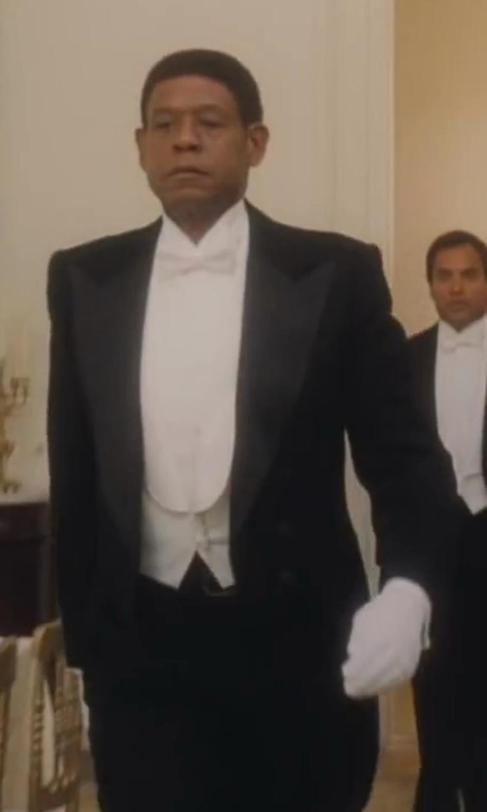 Forest Whitaker with Rothco White Dress Parade Gloves in Lee Daniels' The Butler