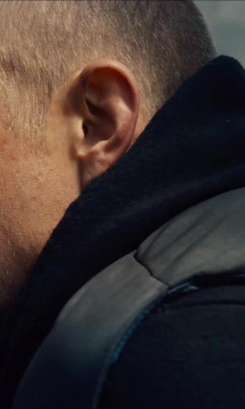 Joel Kinnaman with John Elliot Hooded Villain Sweatshirt in Run All Night