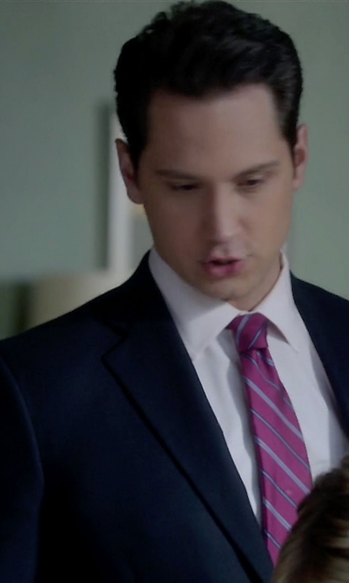 Matt McGorry with J.Crew Crosby Suit Jacket in How To Get Away With Murder