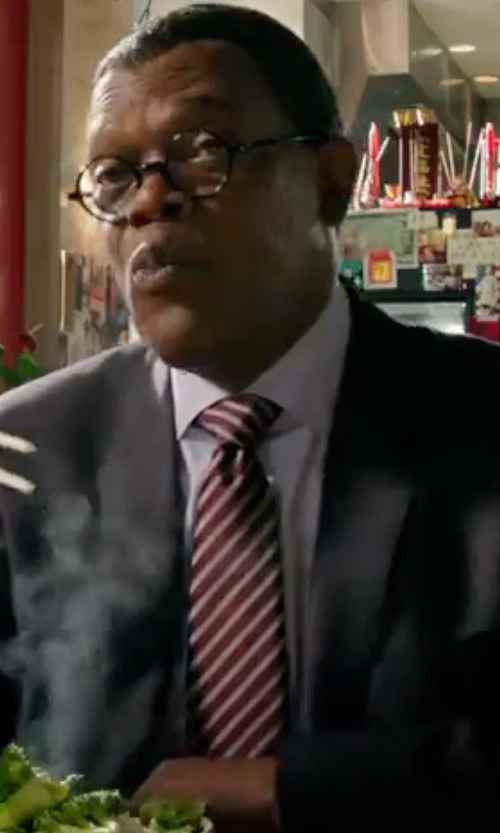 Samuel L. Jackson with Hugo Boss Boss James Sharp Regular Fit Wool Suit in xXx: Return of Xander Cage