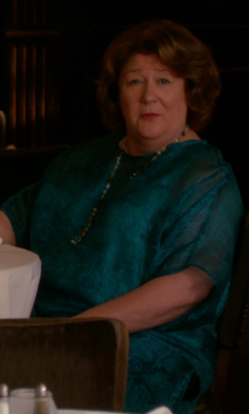 Margo Martindale with Joseph Dilys Cotton-Blend Macramé Lace Dress in The Good Wife