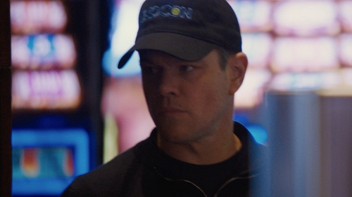 "Matt Damon with Otto Modified ""Exocon"" Black Hat in Jason Bourne"