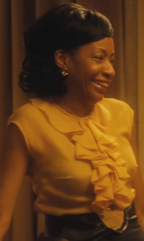 Adriane Lenox with Chloé Sleeveless Top with Ruffles in Lee Daniels' The Butler